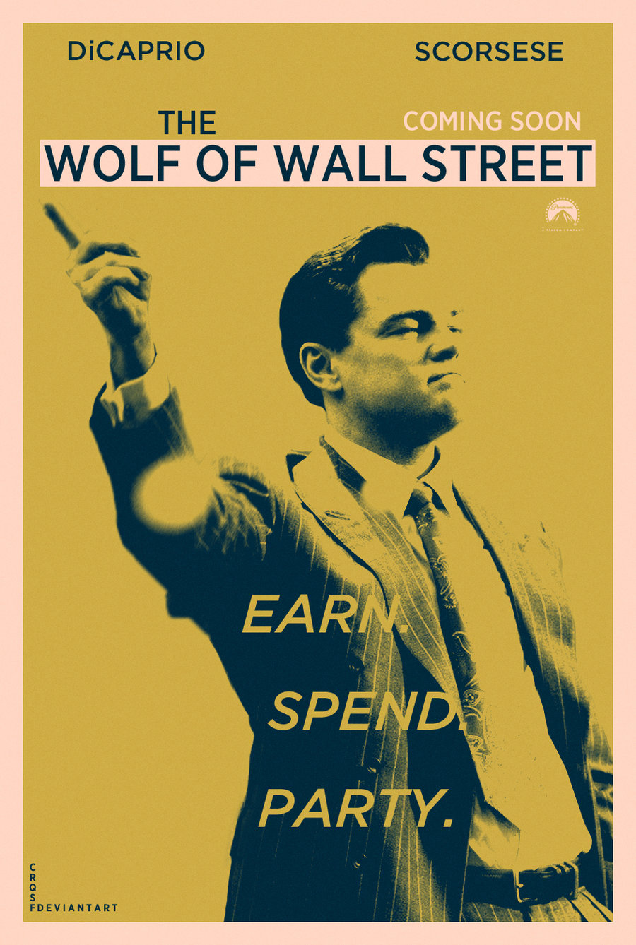 movie review the wolf of wall There's a sense of direction that only martin scorcese can bring, which the wolf of wall street shows in spades this 3-hour windup about tons of drugs, crudeness, sex and decadence somehow finds the fine line of taste, to retain an interest for its full run and welcome viewers into this hedonistic universe.
